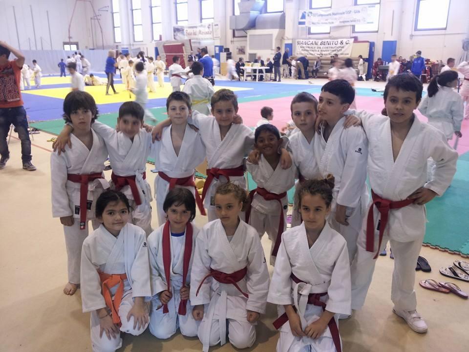 i piccoli atleti del judo elba